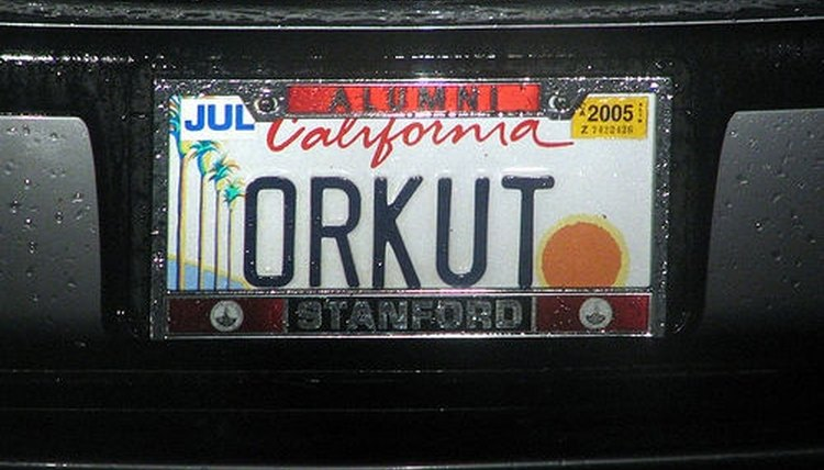 License plates are required in all states.