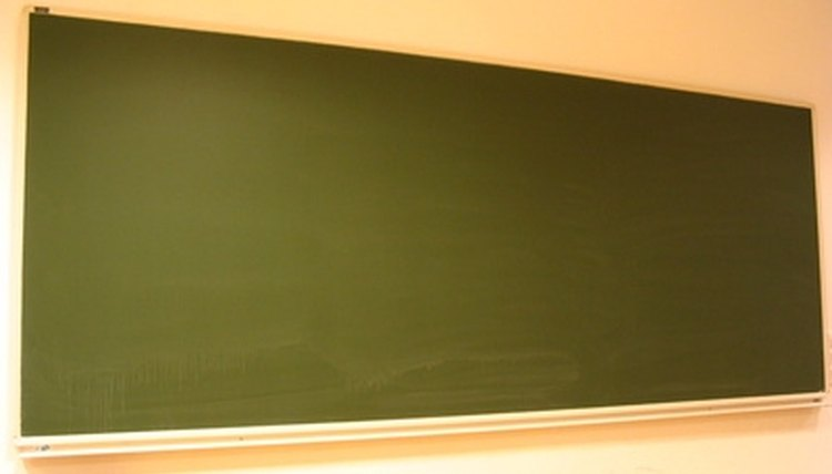 Write the aim of the lesson on the blackboard.