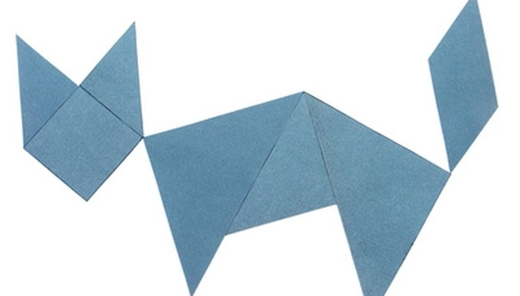 Tangrams and other math puzzles strengthen thinking skills.