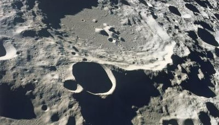 Exactly where is this crater in relation to any other crater on the face of Earth's moon?