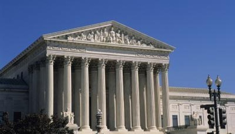 The Supreme Court, like the other two branches, makes its home in Washington, D.C.
