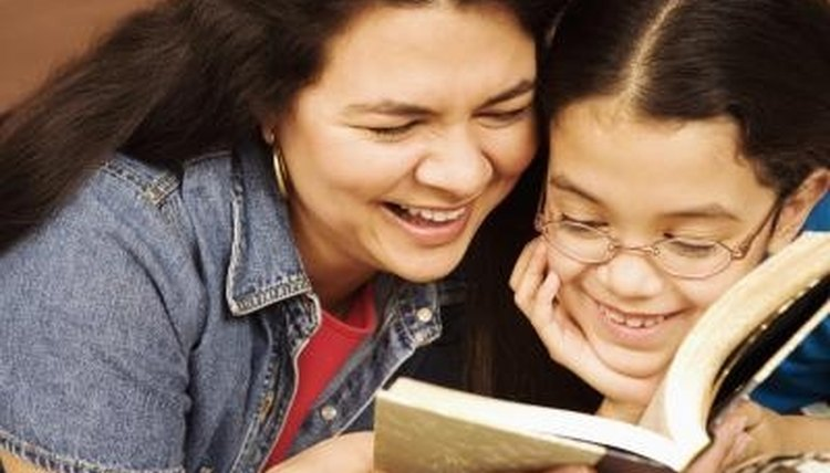 Reading out loud together will improve reading skills.