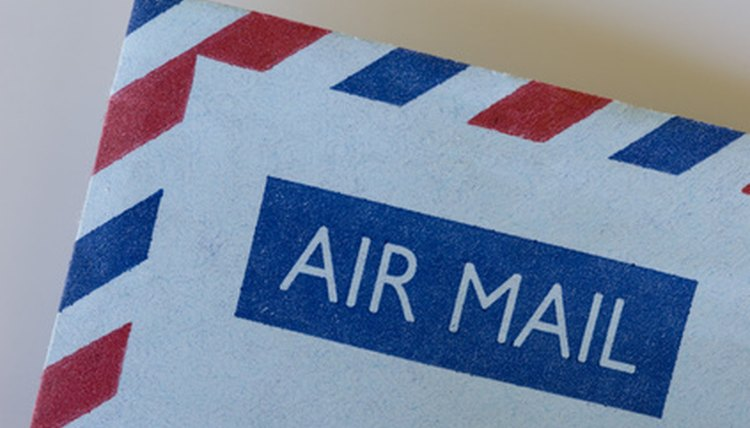 How to Send an Airmail Letter