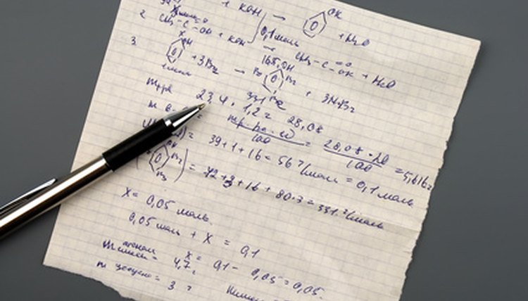 Many assessments of applied mathematics provide you with the formulas you need to take the test.