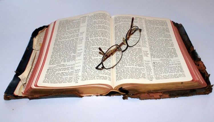 The inductive Bible study method is a popular method of Bible study.