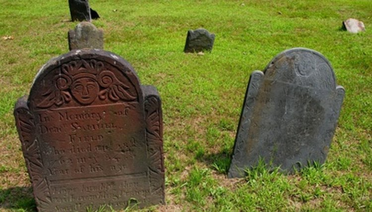 Burial vaults keep graves from collapsing.