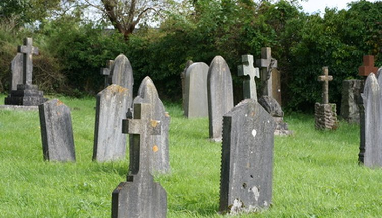 Former property owners are eligible to certain rights with cemetery plots.