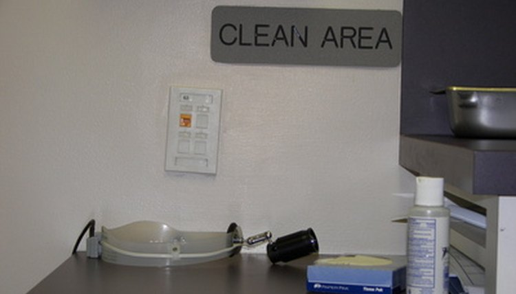 Having a clean and safe environment is important in tattoo removal.