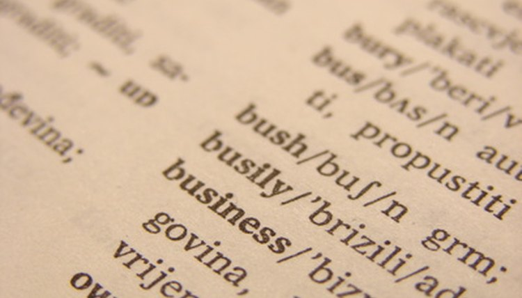 When in doubt, consult your dictionary.