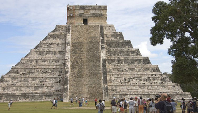 Mayan pyramids were carefully designed to align with dramatic astronomical events at certain times of the year. They were also sites of ritualized killing.