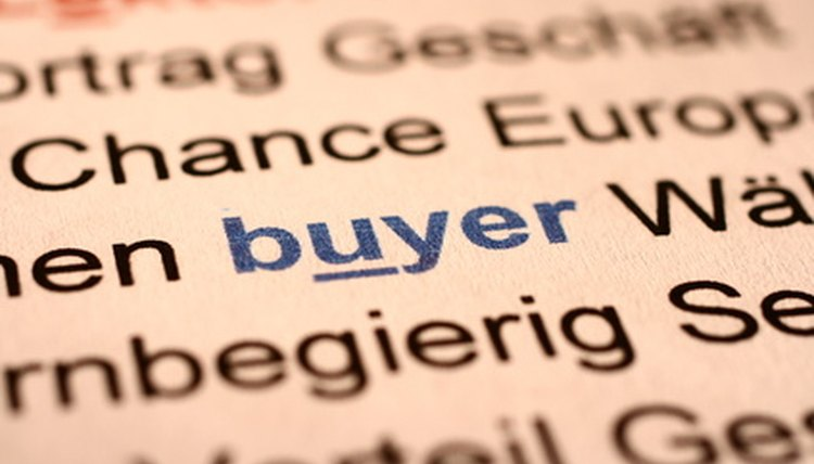Senior Buyer Job Description  Career Trend