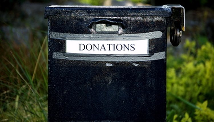 Tamper-resistant materials and a lock can help keep your donation box secure.