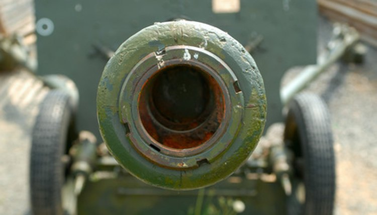 A gunner's mate works with all kinds of military artillery.