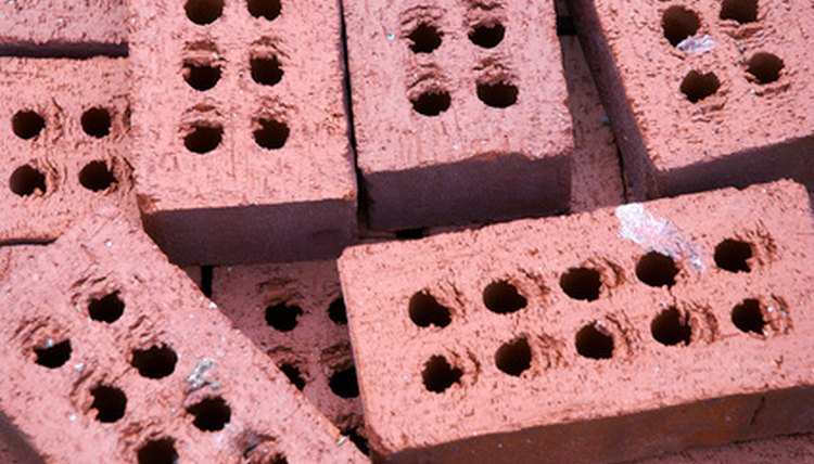Loose bricks can be stacked up to 7 feet high.