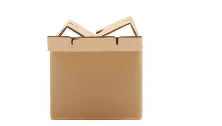 Don't store your cardboard boxes, instead donate them so they will be reused.