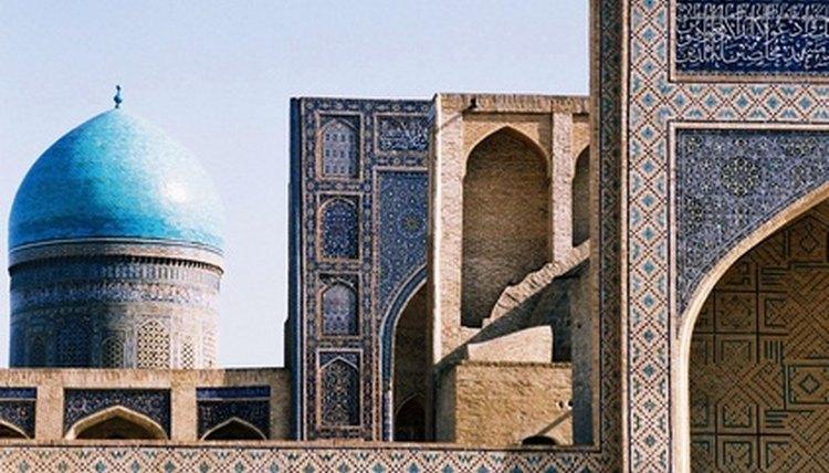 A mosque, place of Muslim prayer