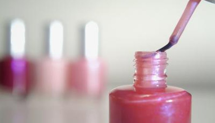 A wealth of different colored nail polish can be made.