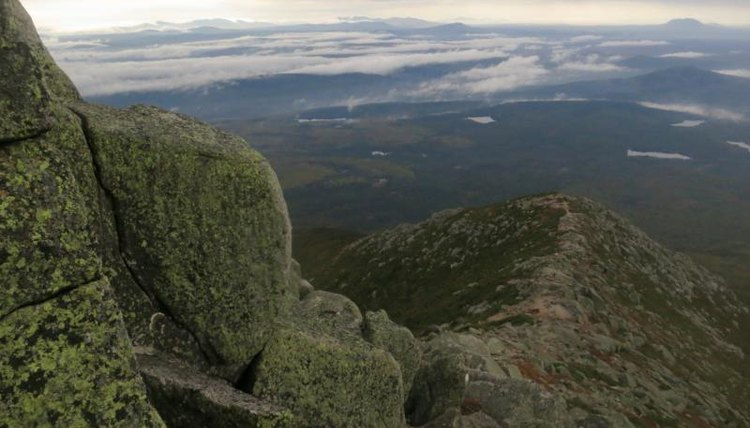 A view from the hike up Mt. Katahdin.
