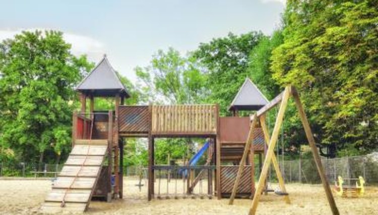 Inspect playground equipment once a month.