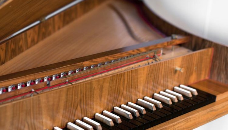 Old harpsichord