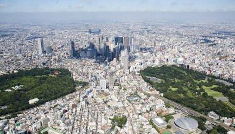 Wide shot of Tokyo.