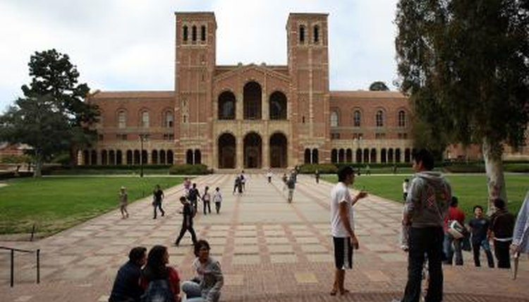 The campus UCLA