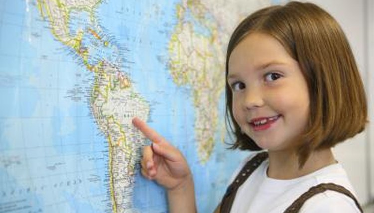Explain to the kids what maps are used for.