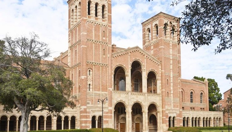 A building on the UCLA campus