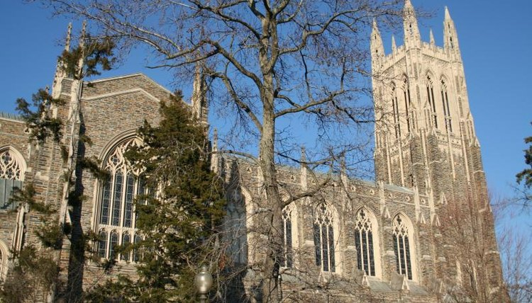 Duke University's famous chapel building
