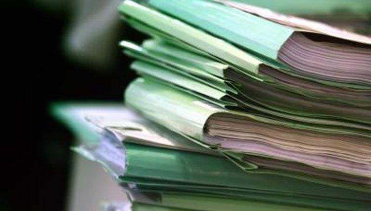 Police criminal files