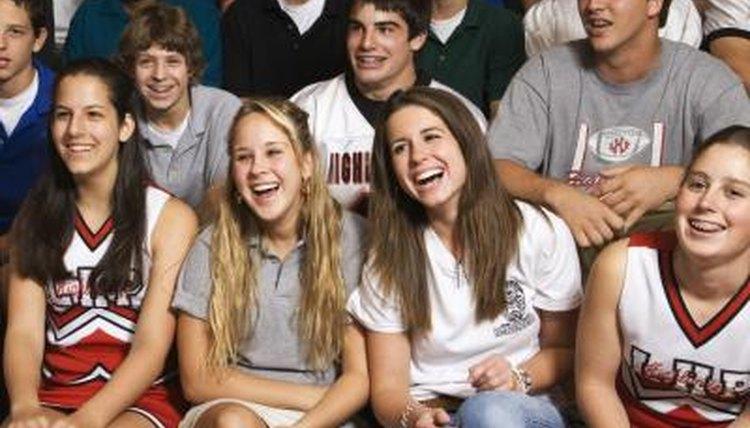 Pep assemblies include fun performances and boost school spirit.