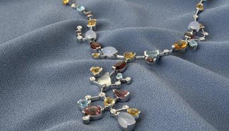 Titanium necklace.