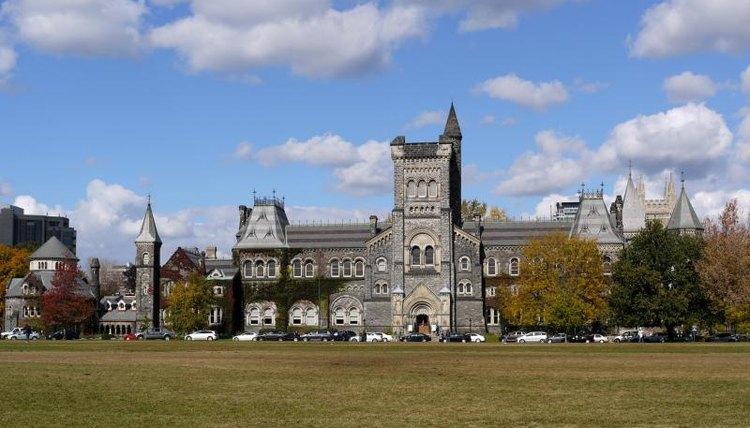 The University of Toronto.
