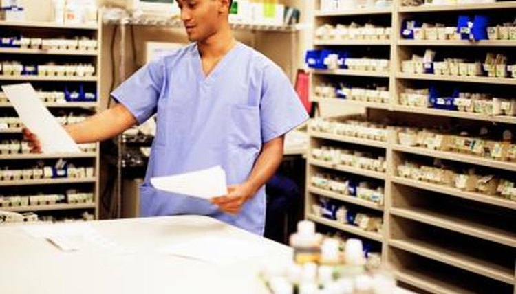 In the last portion of the professional pharmacy degree program, the student work under close guidance in a pharmacy