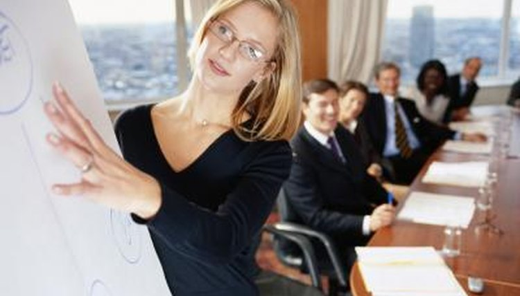 Courses in public speaking or speech communication provide the necessary skills.