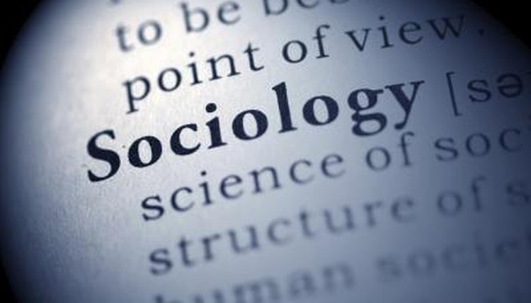 Definition of sociology.