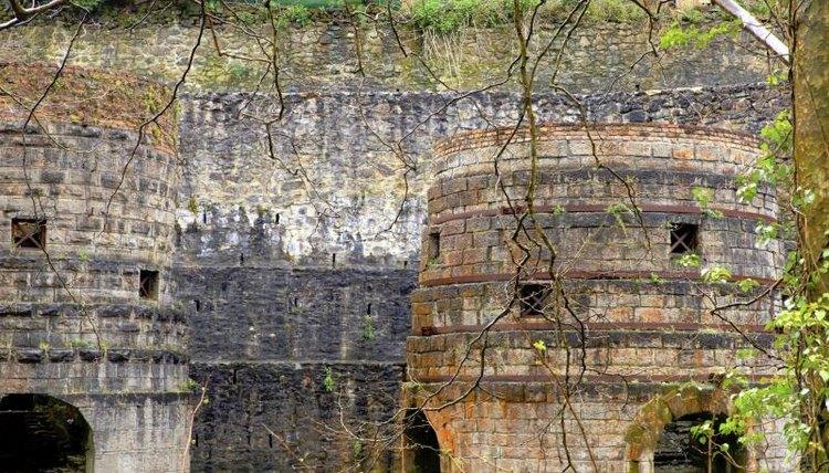 Ancient mining ruins