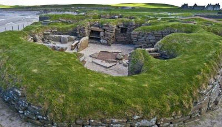 Stone Age village in Orkney, Scotland