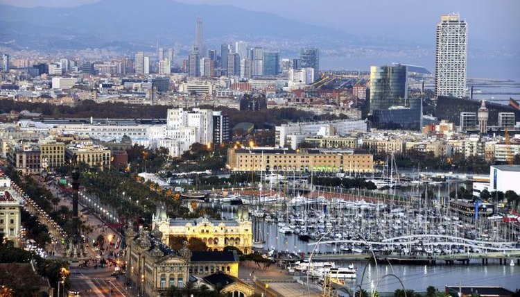 Scenic view of Barcelona, Spain, where the Institute for Advanced Architecture Catalonia is located.
