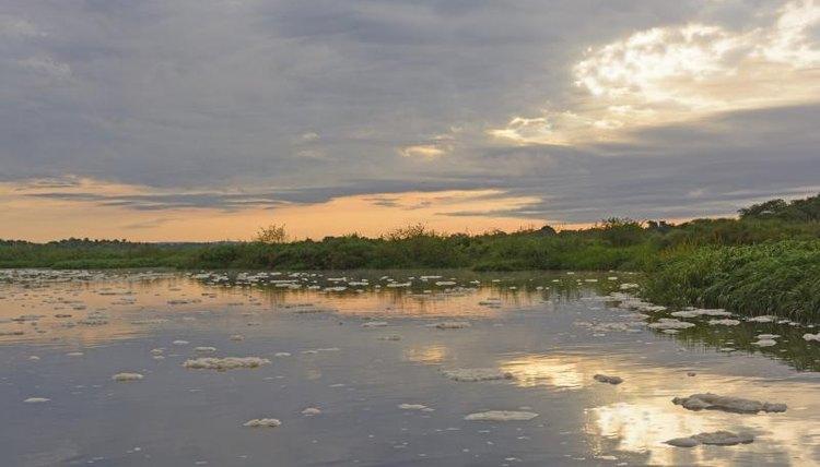 The Nile extends through Uganda.