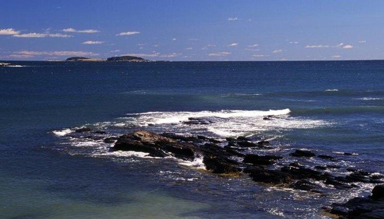 Maine oceanside.