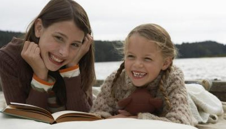 Average reading speed increases throughout childhood.
