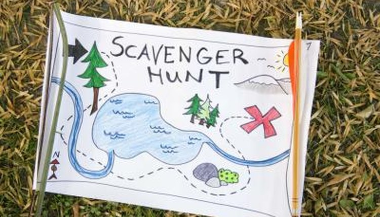 Try a book-themed Scavenger Hunt in the classrooms or outside if the season allows.