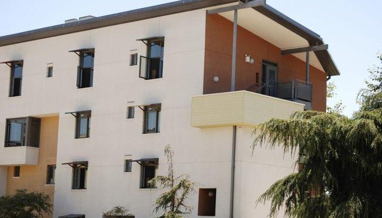 University of Santa Barbara housing building.