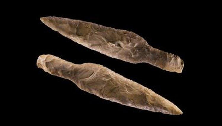 Prehistoric spearheads