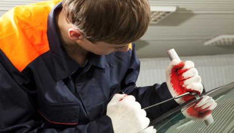 The center of your windshield must be free of discoloration and damage.