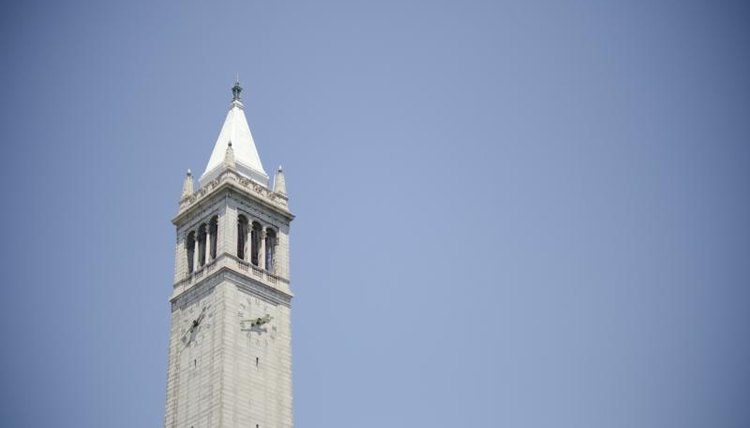UC Berkeley's famous clock tower