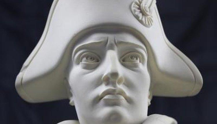 Portrait of Napoleon Bonaparte.