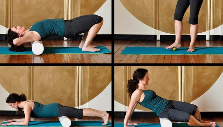 How to Ease Muscle Soreness With a Foam Roller