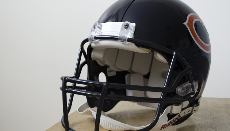 How to Put on a Chin Strap on a Football Helmet